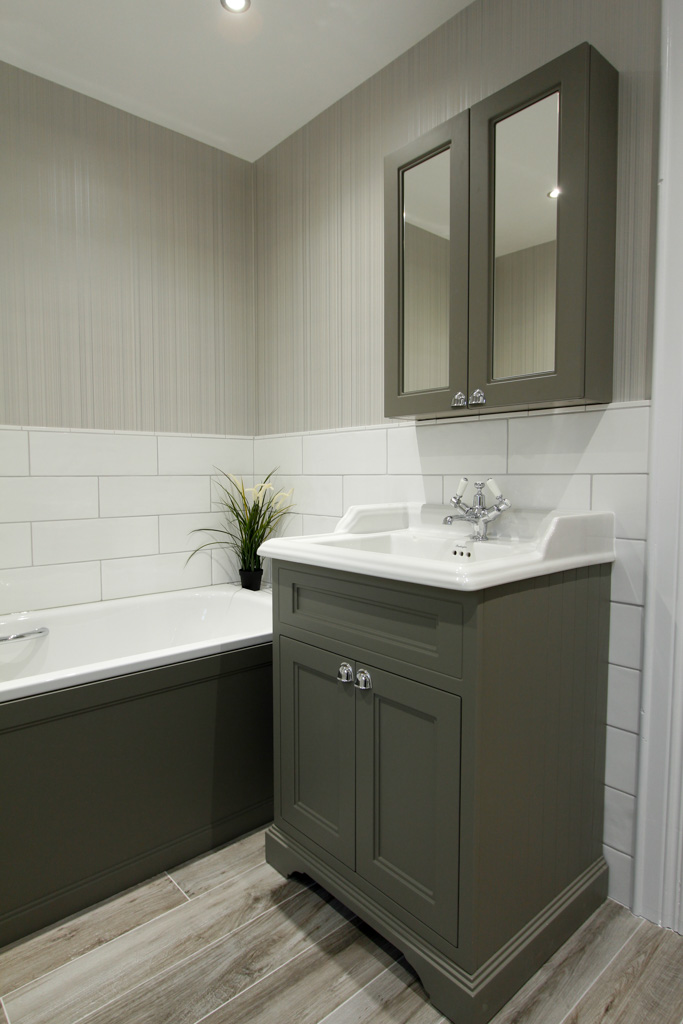 Elegant Crawfordsburn Apartment Sykes Bathrooms Tiles