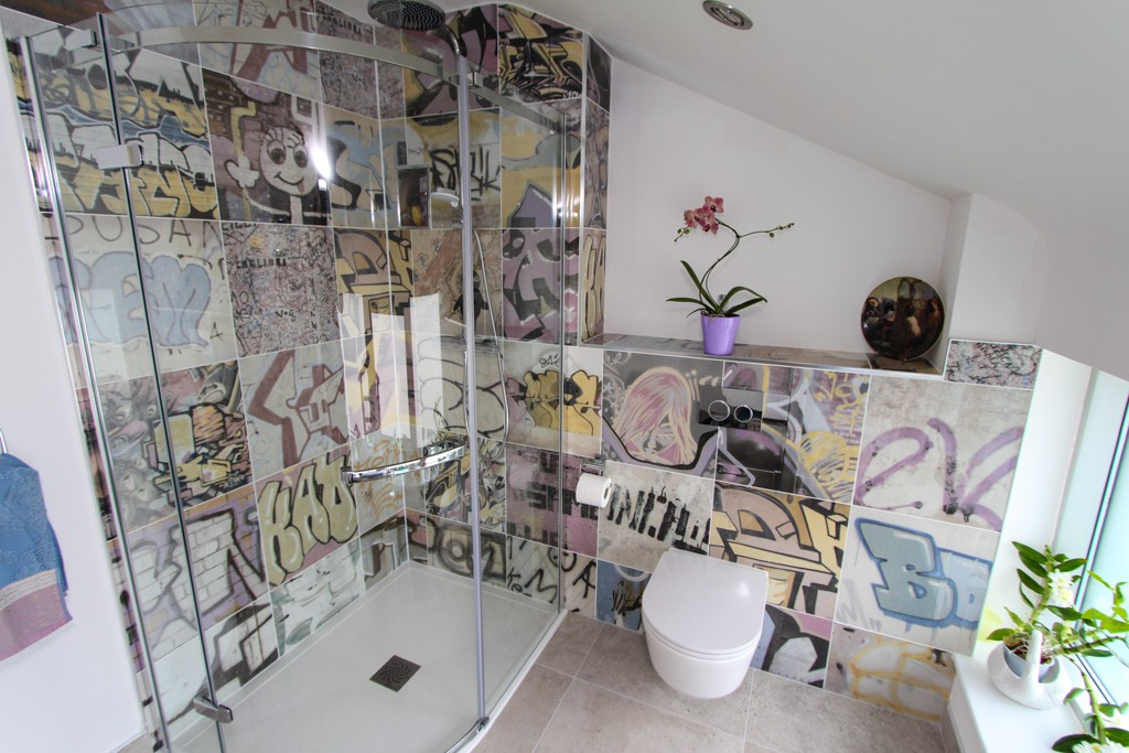 We Recently Had A Customer Who Wanted Something Special For Their Guest En Suite And What Could Stand Out More Than This The Bansky Range From Peronda